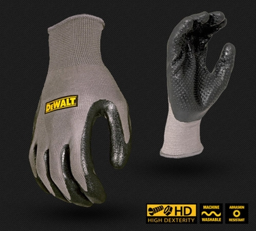DeWalt Ultradex™ Dotted Nitrile Dip Glove