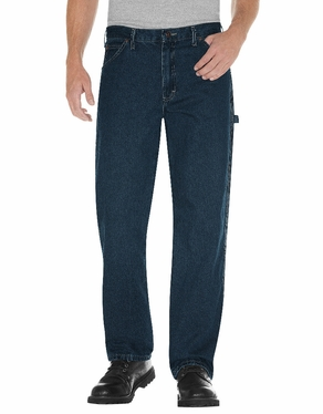 Dickie's Relaxed Fit Stonewashed Carpenter Denim Jean