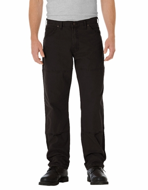 Dickie's Relaxed Straight Fit Sanded Double Knee Duck Jean
