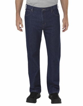 Dickie's Tough Max™ Relaxed Fit Straight Leg 5-Pocket Carpenter Denim Jean