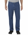 Dickie's Tough Max� Relaxed Fit Straight Leg 5-Pocket Carpenter Denim Jean