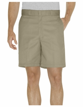 """Dickies 8"""" Relaxed Fit Traditional Flat Front Short"""