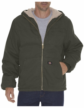 Dickies Duck Sherpa Lined Hooded Jacket