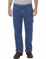 Dickies Relaxed Fit Straight Leg Flannel-Lined Carpenter Denim Jean