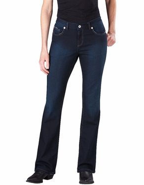 Dickies Women's Slim Boot Cut Denim Jean