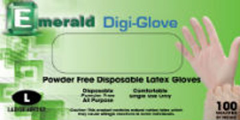 Digi-Glove Powder-Free Latex Gloves - 4 Mil