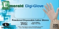 Digi-Glove Powdered Latex Gloves - 4 Mil