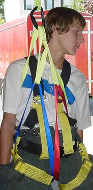 Drag Rescue Harness