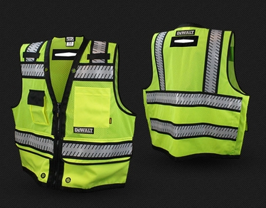 DSV521 Class 2 Heavy Duty Surveyor Vest