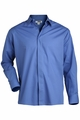 Edwards Garment Broadcloth Caf� Shirt - Long Sleeve