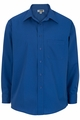 Edwards Garment Easy Care Point Collar Poplin Shirt - Long Sleeve