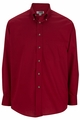 Edwards Garment Easy Care Poplin Shirt - Long Sleeve
