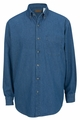 Edwards Garment Midweight Denim Shirt - Long Sleeve