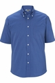 Edwards Garment Signature Pinpoint Button Down Oxford - Short Sleeve