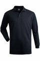 Edwards Garment Soft Touch All Cotton Pique Polo - Long Sleeve