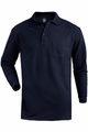 Edwards Garment Soft Touch Blended Pique Polo - Long Sleeve with Pocket