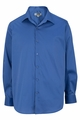 Edwards Garment Spread Collar Dress Shirt with Stretch Broadcloth