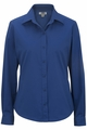 Edwards Garment CottonPlus Twill Blouse - Long Sleeve