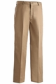 Edwards Garment Easy Fit Flat Front Chino Pant