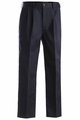 Edwards Garment Easy Fit Pleated Front Chino Pant