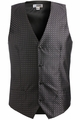 Edwards Garment Grid Brocade Vest
