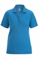 Edwards Garment Johnny Collar Hi-Performance Mesh Polo