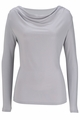 Edwards Garment Long-Sleeve Cowl-Neck Knit Top