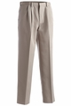 Edwards Garment Microfiber Easy Fit Pleated Front Pant