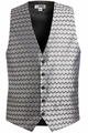 Edwards Garment Swirl Brocade Vest