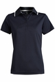 Edwards Garment Tipped Collar Hi-Performance Mesh Polo