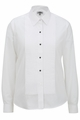Edwards Garment Tuxedo Shirt - Point Collar Quarter Pleat