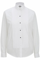 "Edwards Garment  Tuxedo Shirt - Wing Collar 1/8"" Pintucks"