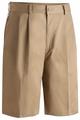 "Edwards Garment Utility Pleated Front Chino Short - 9"" Inseam"