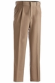 Edwards Garment Washable Poly/Wool Pleated Front Pant
