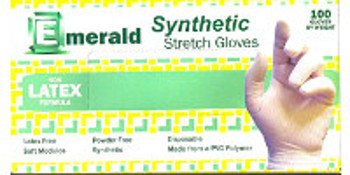 Emerald Yellow Stretch Synthetic Gloves