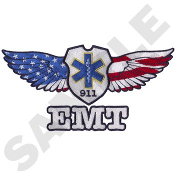 Game Sportswear EMT With Wings-Large