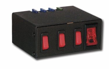 Enclosed Switch Box (1) 30 Amp Switch (3) 20 amp Switches