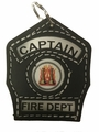 Engine Captain Key Chain Shield