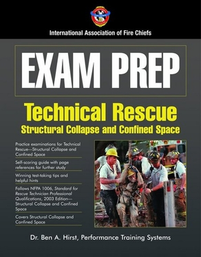 Exam Prep: Technical Rescue–Structural Collapse and Confined Space