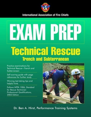 Exam Prep: Technical Rescue傍rench and Subterranean