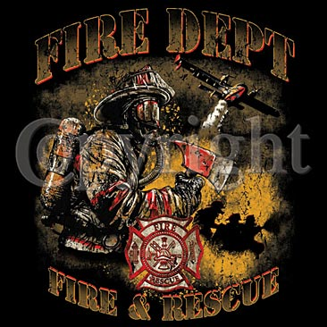 FD Fire Rescue Shirt