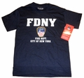 FDNY Navy Blue T-Shirt
