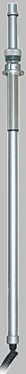 Focus Top Mount Pull Up Telescopic Pole - Square Flange