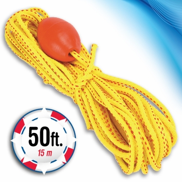 FOX 40 Marine 50' Water Safety Rope & Float