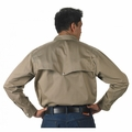 FR Khaki Vented Back Shirt