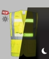 G476 Glowtex Triple Vest Safety