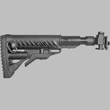 GALIL-STYLE RECOIL COMPENSATING FOLDING, COLLAPSIBLE BUTTSTOCK SYSTEM FOR VZ.58