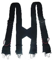 GENXP Firefighter Suspenders With Pull Straps