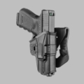 Glock 9mm/.40 Level 1 Holster (Paddle/Belt)