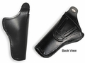 Boston Leather Guardian Hi-Ride Duty Holster for 9MM Automatics, Glock 22, 17